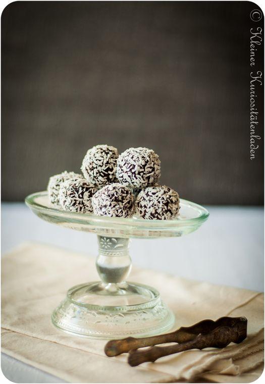Chokladbollar (Schoko-Haferflockenkugeln)
