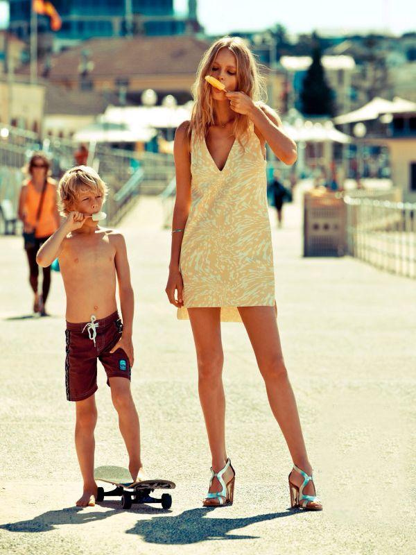 dustjacket attic: Fashion Editorial | A Summer's Day