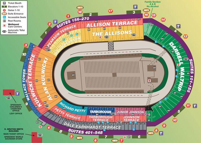 Bristol Motor Speedway Seating Chart ~ We've got great tickets!