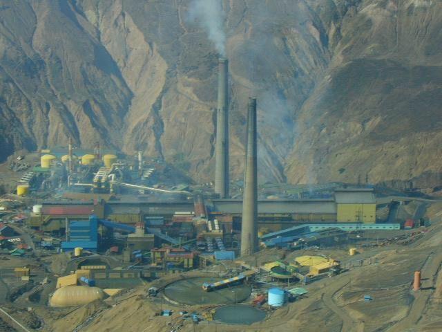 Largest underground mine, El Teniente.