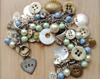 173 best Button Jewelry images on Pinterest Button crafts Buttons