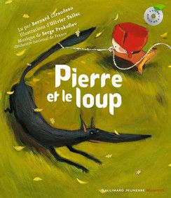 ++++ / Pierre et le loup - Hors Série Musique - Livres pour enfants - Gallimard Jeunesse -> robin 3 ans. Un classic