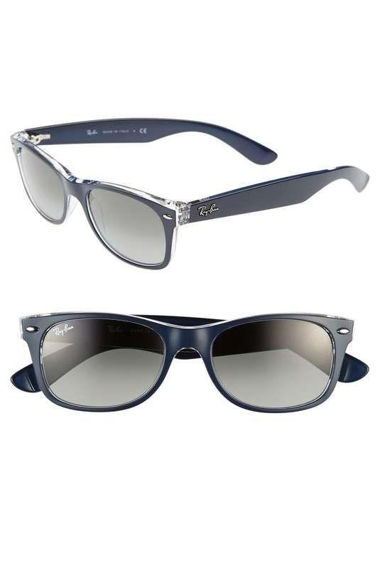 Ray-Ban | 'New Wayfarer' 52mm Sunglasses #rayban #sunglasses