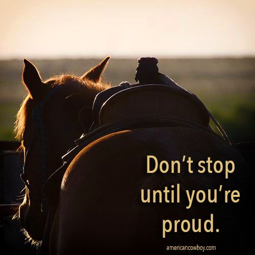 #MotivationMonday cowboy quote