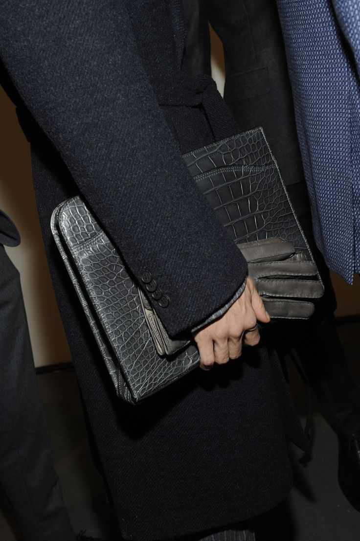Ready for #fashionshow #lineup #models #bag #details #backstage #canali #canali1934 #mfw #fw14