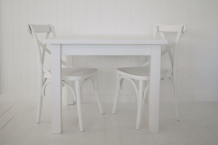 *Creative play station*  Incy Interiors Play Table + Chairs - White, Children's Furniture