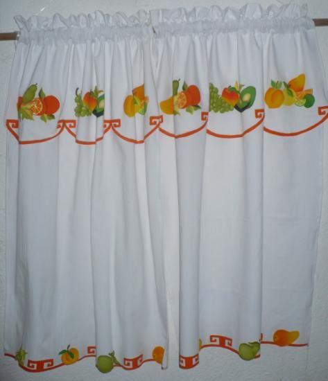 17 mejores ideas sobre cortinas pintadas en pinterest - Ver cortinas para cocina ...