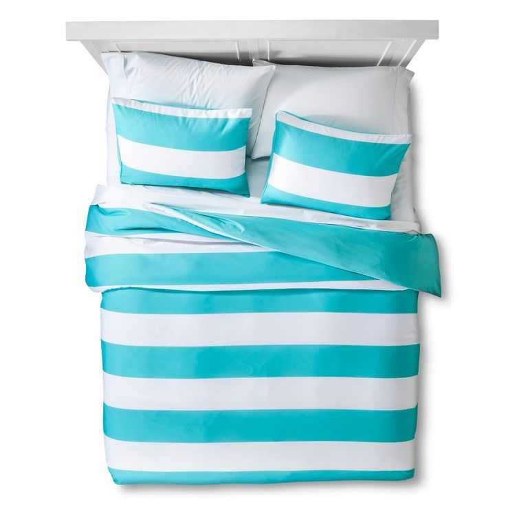 Room Essentials Rugby Stripe Comforter Room Essentials Comforters Long Room