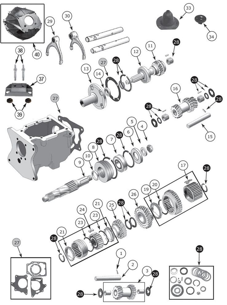 16 best Jeep Wagoneer SJ Parts Diagrams images – Jeep I6 Engine Diagram