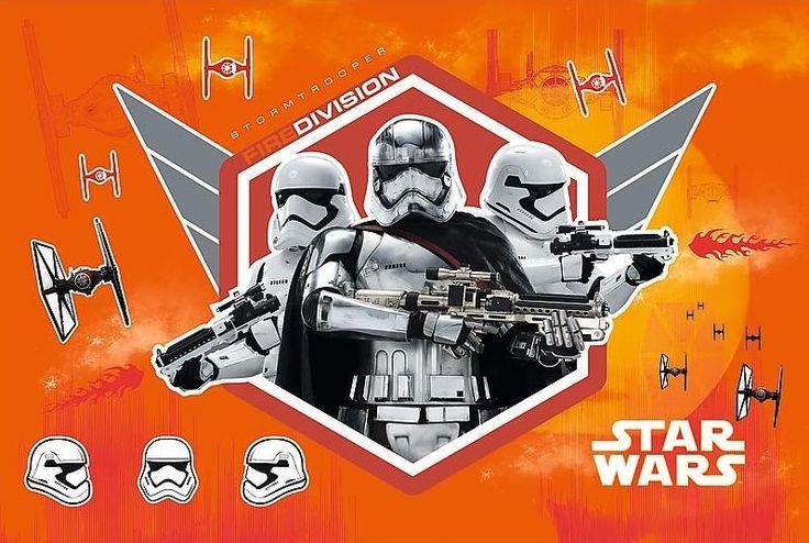Svítící puzzle pro děti TREFL 60 dílků - Star Wars: Kapitánka Phasma