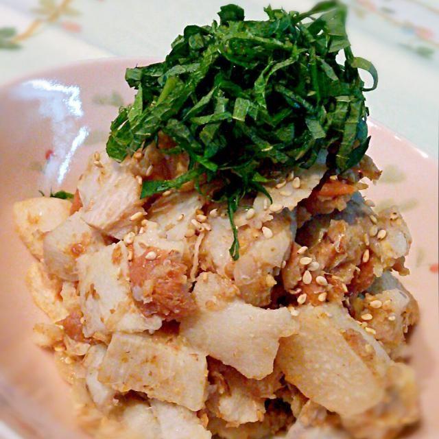 数日前に作った副菜です♪ 里芋をレンチン♪して和えただけですが、かつお梅がよく合っていて美味しかったです♡ - 123件のもぐもぐ - 里芋の梅和え♪ by cocotay