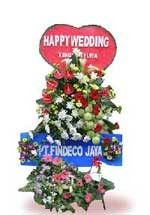Toko Bunga Bandung Standing Flowers Selamat STDS008