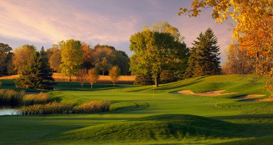 Hazeltine National Golf Club, Chaska, MN, private, #3 in Minnesota.