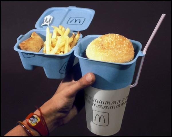 One-hand packaging #packaging #design #macdo #hamburger