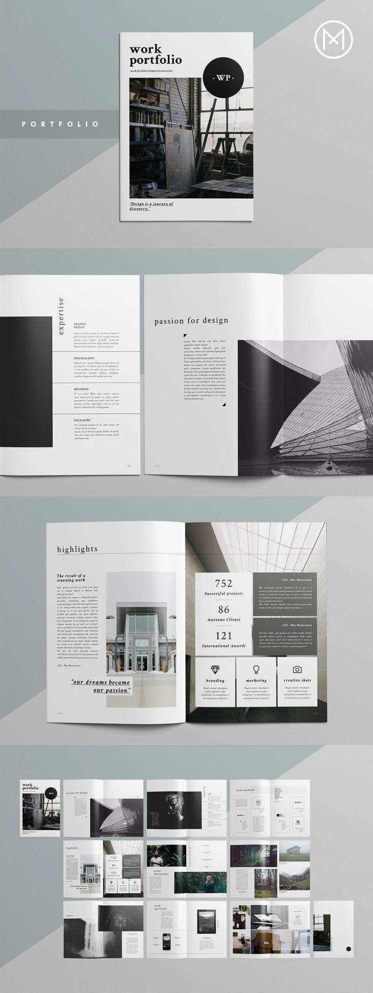 Simple layout design ideas #business #portfolio
