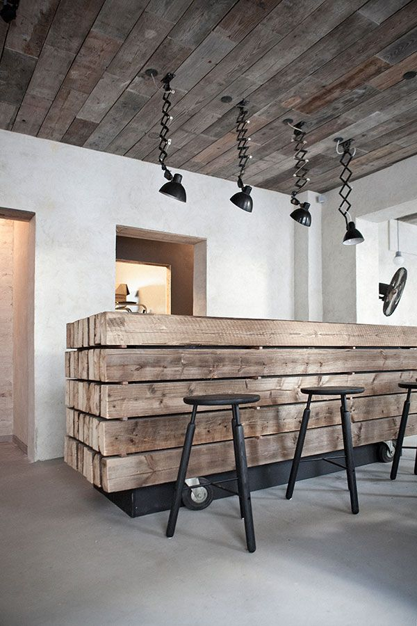 Host Restaurant rustic scandinavian interior Norm Architects & Menu design Denmark