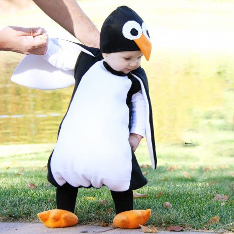 Download Penguin Costume Sewing Pattern (FREE)