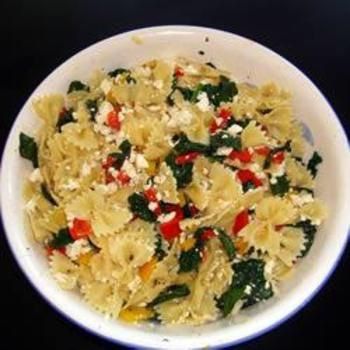 Sweet Pepper Pasta Toss with Kale: Pasta Toss, Recipe, Sweets, Other, Yum