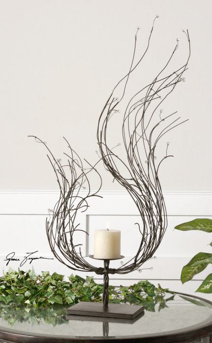 Falon Candleholder available at www.country-villa-decor.com in our Tuscan Country Inspiration Room ONLINE BOUTIQUE