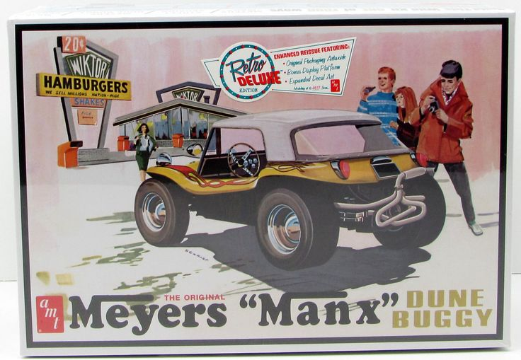 "AMT Meyers ""Manx"" Dune Buggy 1/25 Plastic Model Car Kit"