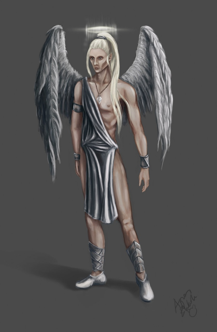 Aharon, my oc Servitor of Light. Earlier known as Ravid.