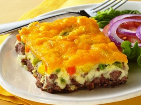 Torta de Cheeseburger - Receita CyberCook