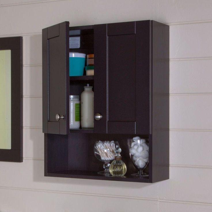 Amazon Com Glacier Bay Over Toilet Storage Cabinet In