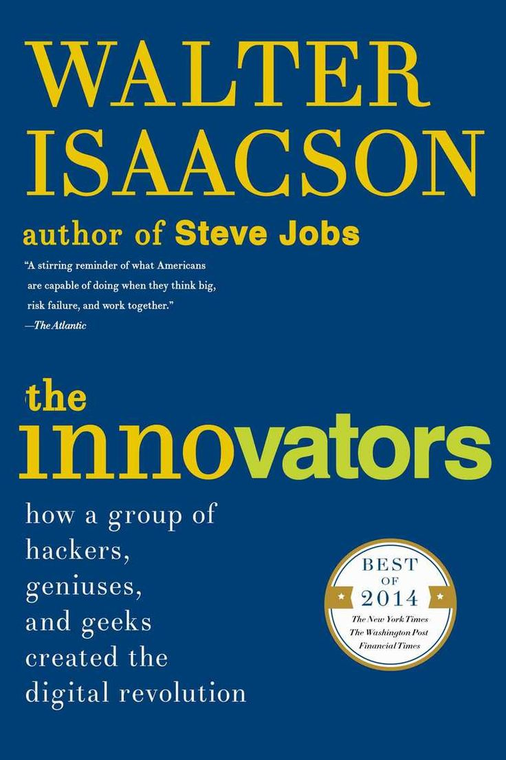 """Following his blockbuster biography of Steve Jobs, Walter Isaacson's New York Times bestselling and critically acclaimed The Innovators is a """"riveting, propulsive, and at times deeply moving"""" (The Atlantic) story of the people who created the computer and the Internet.What were the talents that allowed certain inventors and entrepreneurs to turn their visionary ideas into disruptive realities? What led to their creative leaps? Why did some succeed and others fail? The Innovators is a…"""