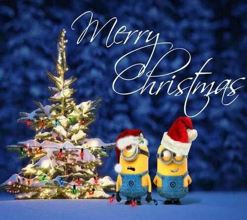 Merry Christmas from Minions