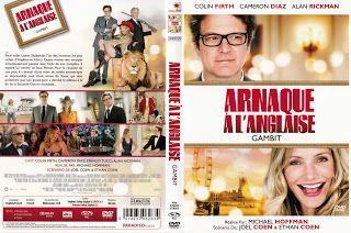 JAQUETTES DVD: jaquette dvd Gambit, arnaque à l'anglaise