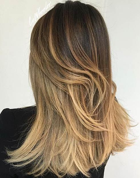 golden brown hair styles 31 stunning balayage looks and honey 5558 | 7a84ef5332af5531de8173674944cb1b