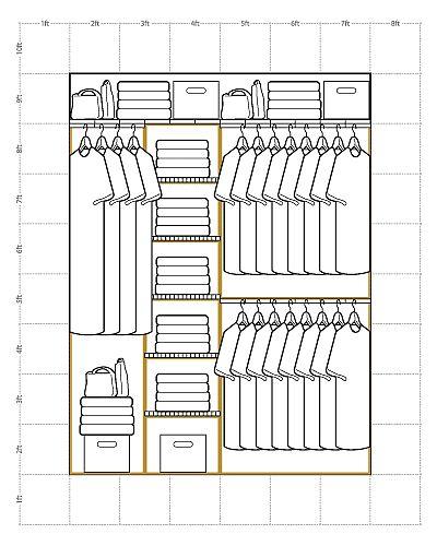 Reach-in Closet Example 1