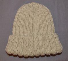 bonnet en laine - tuto très facile