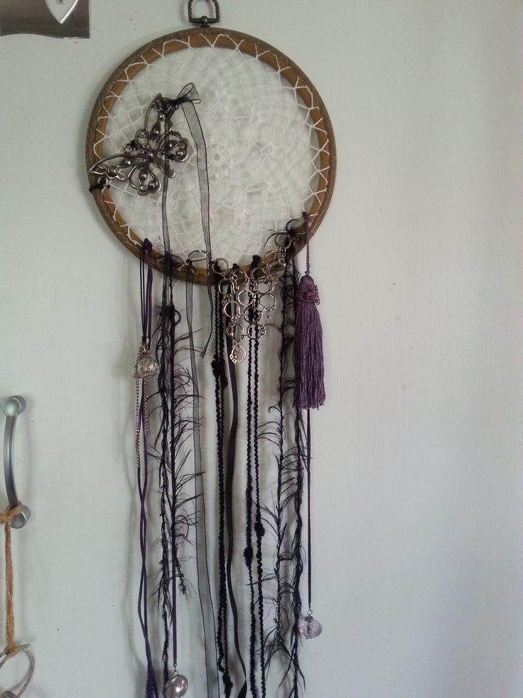 Dream Catcher black & purple...