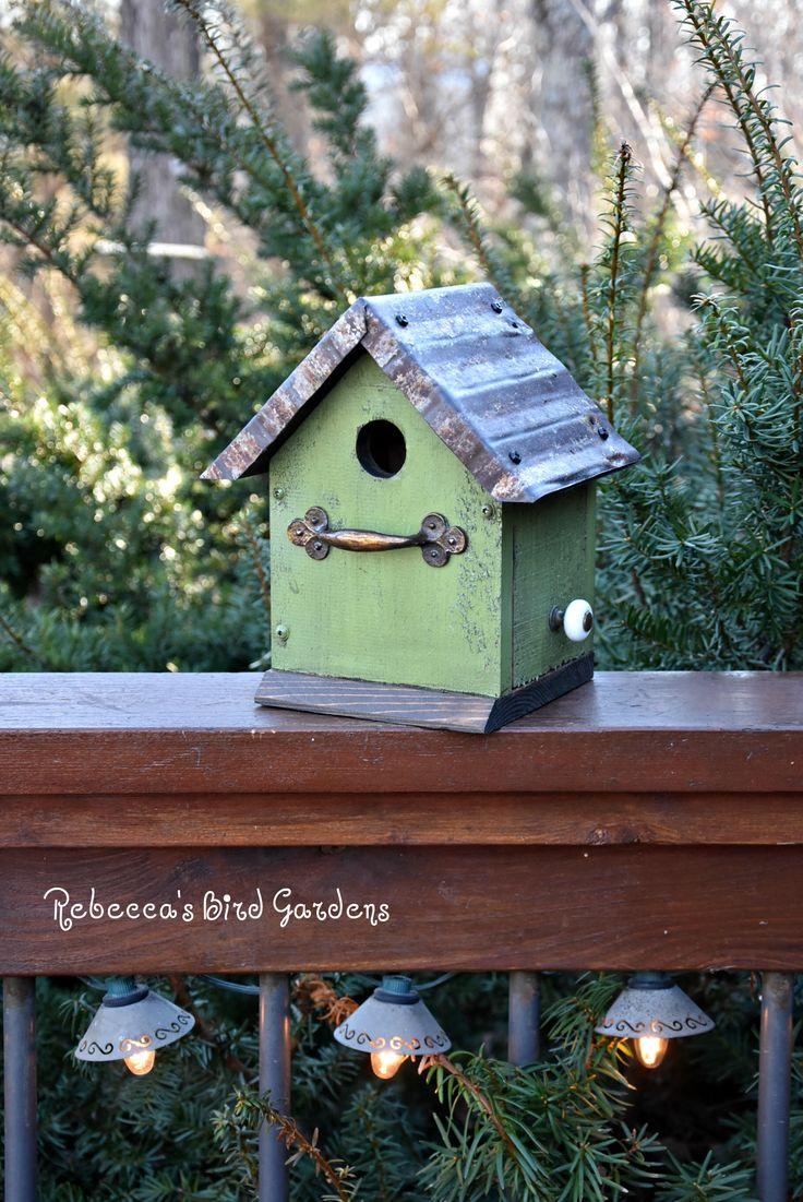 St Patricku0027s Day Rustic Birdhouse The