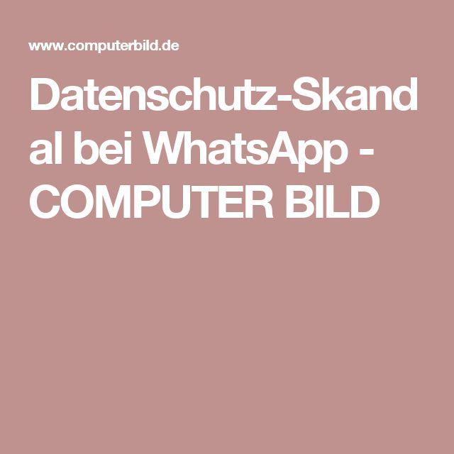 Datenschutz-Skandal bei WhatsApp - COMPUTER BILD