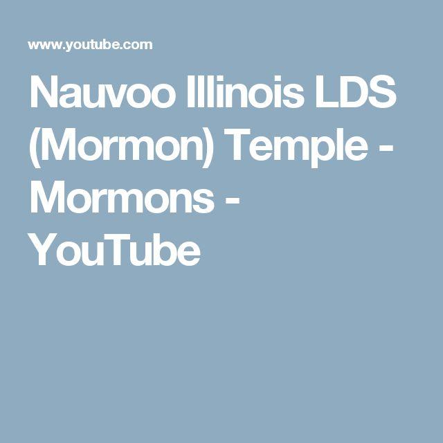 Nauvoo Illinois LDS (Mormon) Temple - Mormons - YouTube