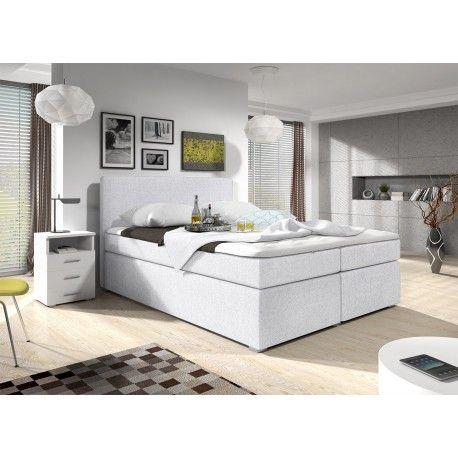 Łóżko kontynentalne Simple 160x200