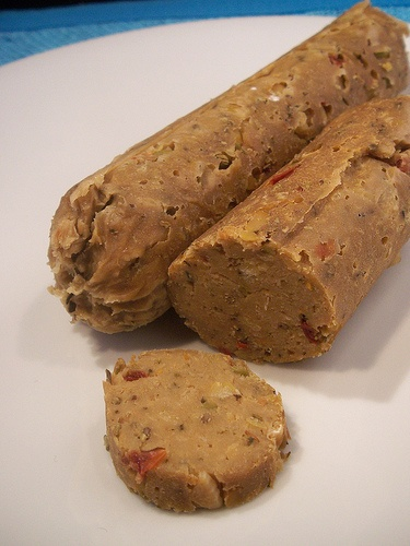 OLIVE AND CHICKPEA SEITAN SAUSAGES  #juliesoissons