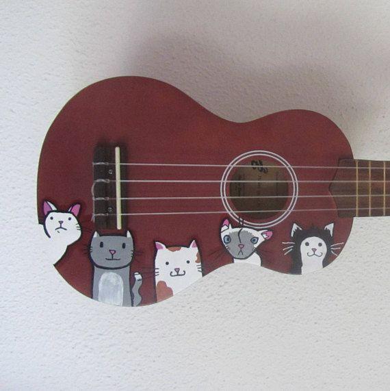 Cat ukulele