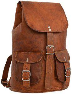 Gusti Cuir nature «Gary 13″» sac à dos pour ordinateur portable iPad Air 13,3″ loisirs pique-nique sac bandoulière nouveau sac en cuir…