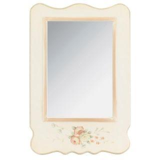 """Oglindă shabby chic """"Musette"""" - fie că întregeşte decorul unui dormitor sau dressingul, acestă oglindă de perete în stil shabby chic farmecă privirea. http://www.retroboutique.ro/oglinzi/oglinzi-clasice/oglinda-shabby-chic-musette-1433"""