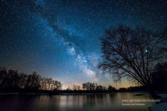 Astro Photography Milky Way Starry Night Fine Art Print Etsy Night Sky Photography Astrophotography Nature Photography