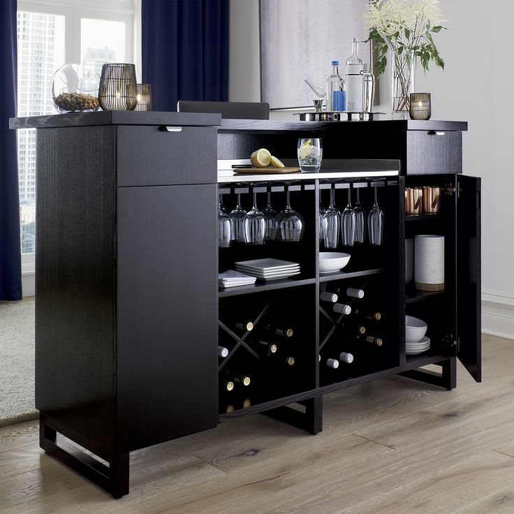 Entertainment Bar Furniture: 25+ Best Home Bar Cabinet Ideas On Pinterest