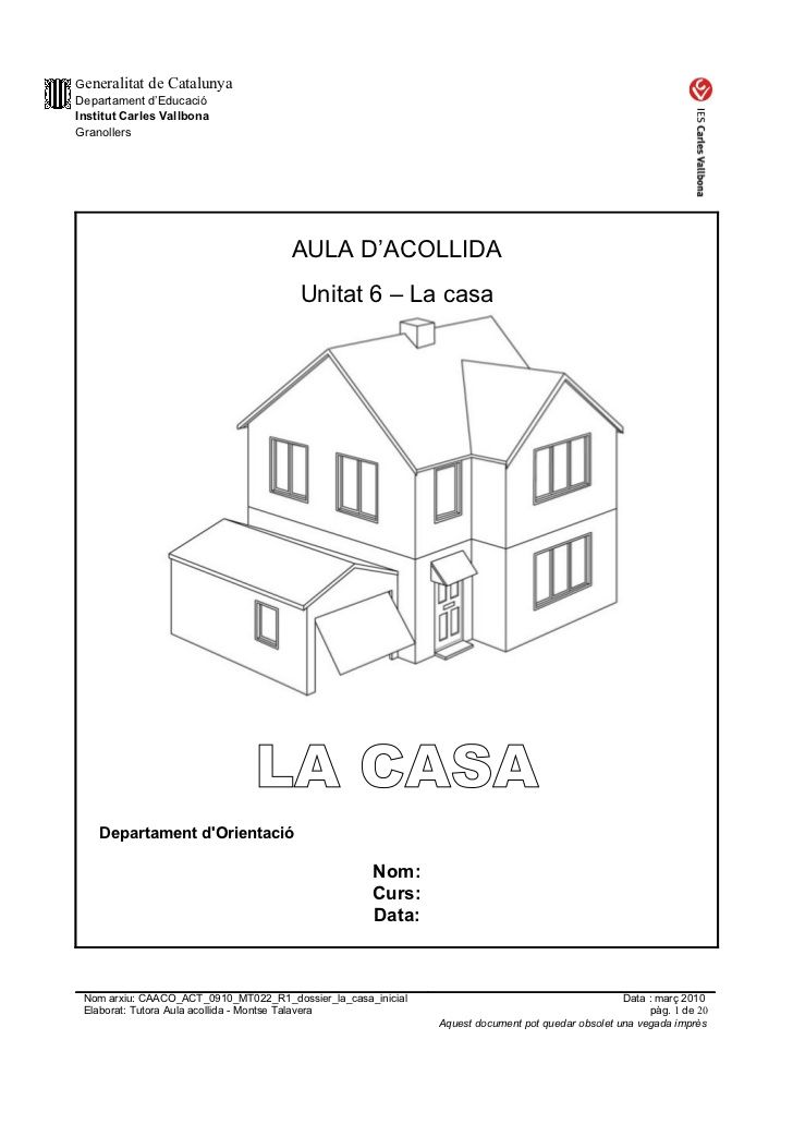 Caaco act 0910_mt022_r1_dossier_la_casa_inicial