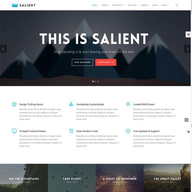 13 best Business Wordpress Themes images on Pinterest | Premium ...