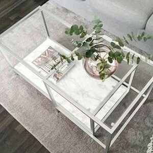 Silver IKEA Vittsjo Hack Home Decor Ideas Pinterest