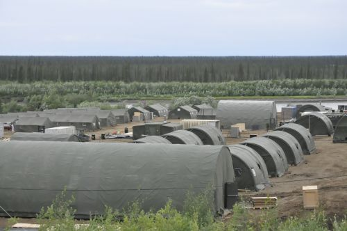 Canadian Forces Camp