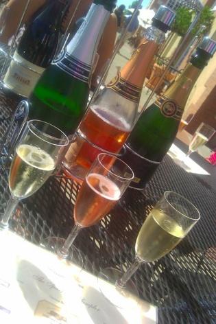 Sparkling Wine Tasting - Domaine Carneros, Napa Valley