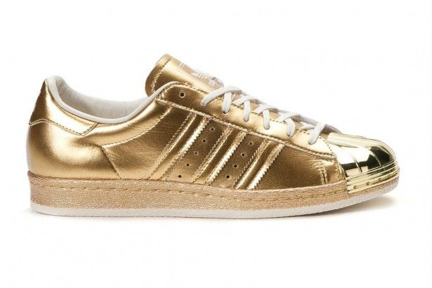 adidas Originals Superstar 80s  Metallic Pack  Gold c5fd4e5d4f5ee